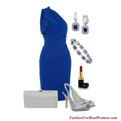 Sapphire Cocktail Dress